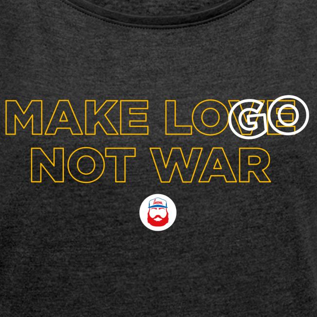 Make LOGO not WAR - girl