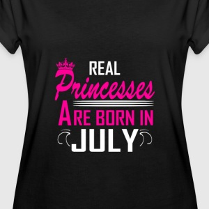 July - Birthday - Princess - 2 T-Shirts - Women's Oversize T-Shirt