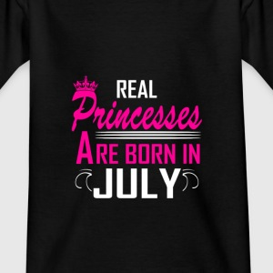 July - Birthday - Princess - 2 Shirts - Teenage T-shirt