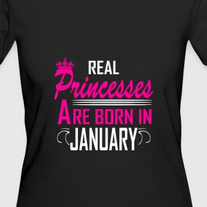 January - Birthday - Princess - 2 T-Shirts - Women's Organic T-shirt