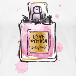 SmileyWorld Love Potion - Maglietta Premium da donna