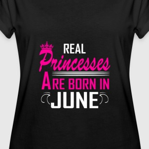 June - Birthday - Princess - 2 T-Shirts - Women's Oversize T-Shirt
