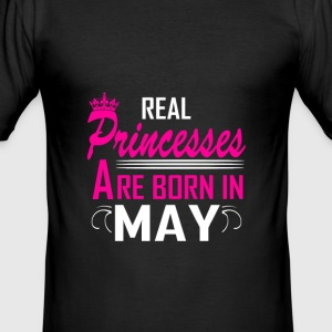 May - Birthday - Princess - 2 T-Shirts - Men's Slim Fit T-Shirt