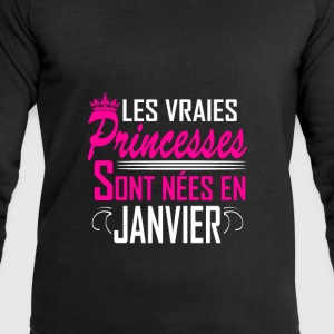 Janvier - Anniversaire - Princess - 2 Sweat-shirts - Sweat-shirt Homme Stanley & Stella