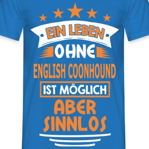 ENGLISH COONHOUND T-Shirts - Männer T-Shirt