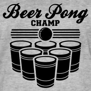 BEER PONG CHAMP T-Shirt - Men's Vintage T-Shirt