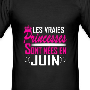 Juin - Anniversaire - Princess - 2 T-shirts - slim fit T-shirt