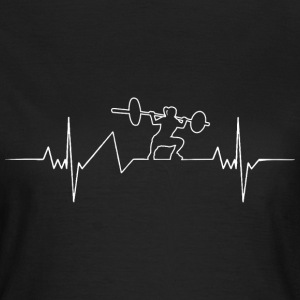Bodybuilding Heartbeat - Frauen T-Shirt