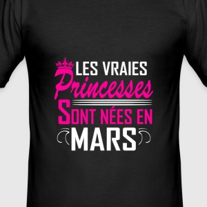 Mars - Anniversaire - Princess - 2 T-shirts - slim fit T-shirt