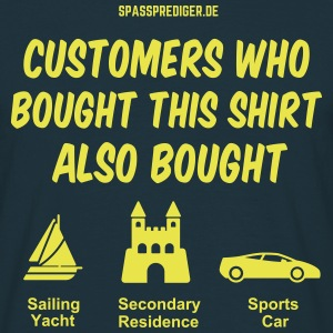 Customers also bought T-shirts - Mannen T-shirt