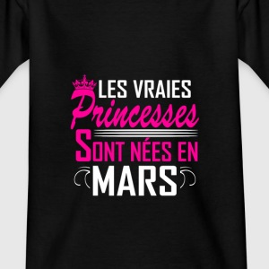 Mars - Anniversaire - Princess - 2 Shirts - Teenage T-shirt
