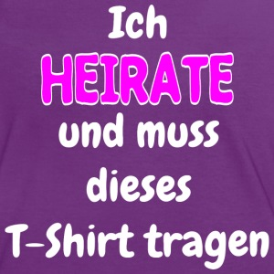 Ich Heirate T-Shirts - Frauen Kontrast-T-Shirt