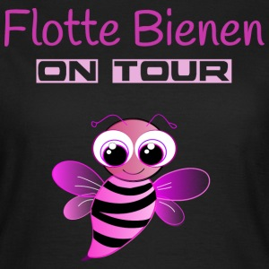Flotte Bienen on Tour T-Shirts - Frauen T-Shirt