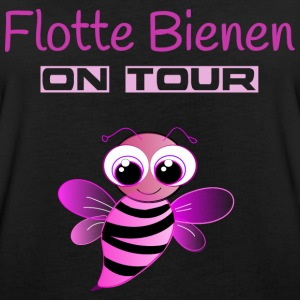 Flotte Bienen on Tour T-Shirts - Frauen Oversize T-Shirt