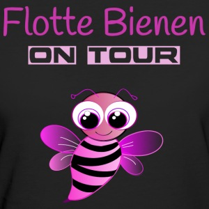 Flotte Bienen on Tour T-Shirts - Frauen Bio-T-Shirt