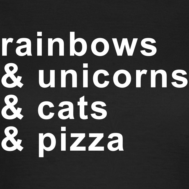 rainbows & unicorns