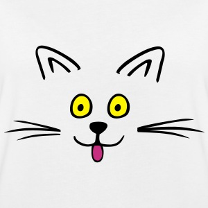 Funny cute cat T-Shirts - Women's Oversize T-Shirt