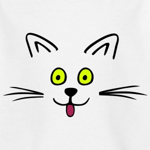 Funny cute cat Tee shirts - T-shirt Enfant