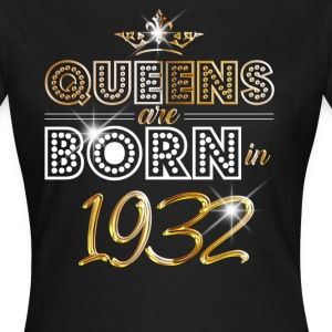 1932 - Birthday - Queen - Gold - EN T-Shirts - Women's T-Shirt