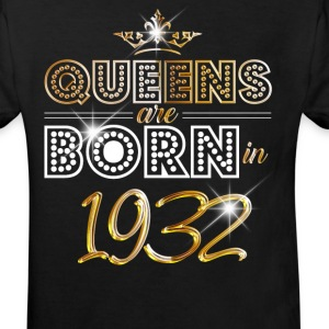 1932 - Birthday - Queen - Gold - EN T-Shirts - Kinder Bio-T-Shirt