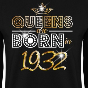 1932 - Birthday - Queen - Gold - EN Sweat-shirts - Sweat-shirt Homme