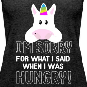 hungry Unicorn Tops - Frauen Premium Tank Top