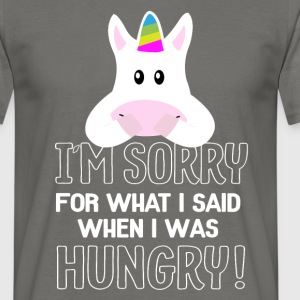 hungry Unicorn T-Shirts - Männer T-Shirt