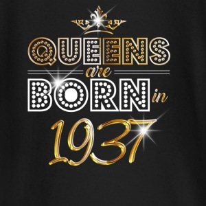 1937 - Birthday - Queen - Gold - EN Baby Long Sleeve Shirts - Baby Long Sleeve T-Shirt