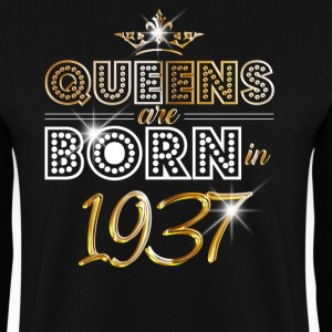 1937 - Birthday - Queen - Gold - EN Sweat-shirts - Sweat-shirt Homme