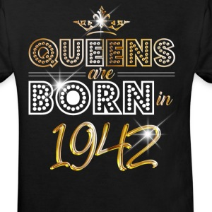 1942 - Birthday - Queen - Gold - EN Tee shirts - T-shirt Bio Enfant