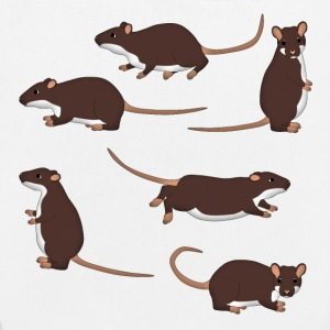 Rat selection Bags & Backpacks - EarthPositive Tote Bag