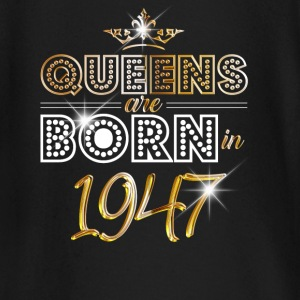 1947 - Birthday - Queen - Gold - EN Tee shirts manches longues Bébés - T-shirt manches longues Bébé