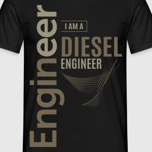 Diesel Engineer - Men's T-Shirt