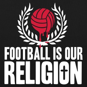 FOOTBALL IS RELIGION Bags & Backpacks - EarthPositive Tote Bag