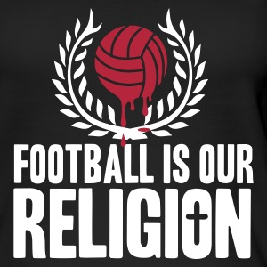 FOOTBALL IS RELIGION Tops - Women's Organic Tank Top