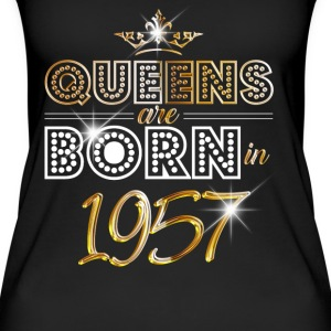 1957 - Birthday - Queen - Gold - EN Tops - Women's Organic Tank Top
