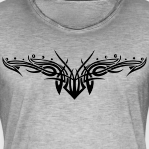 Tribal ornament, filigree stijl. T-shirts - Mannen Vintage T-shirt