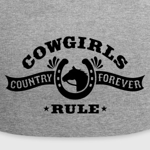 COWGIRLS RULE Caps & Hats - Jersey Beanie