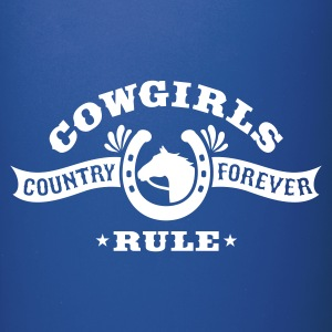 COWGIRLS RULE Mugs & Drinkware - Full Colour Mug