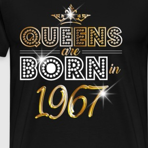 1967 - Birthday - Queen - Gold - EN Tee shirts - T-shirt Premium Homme