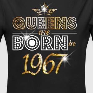 1967 - Birthday - Queen - Gold - EN Baby Bodysuits - Longlseeve Baby Bodysuit