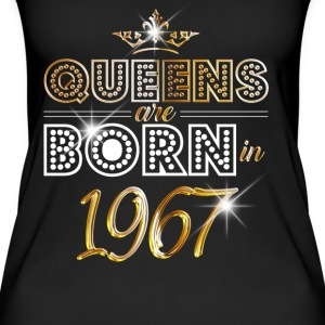 1967 - Birthday - Queen - Gold - EN Tops - Women's Organic Tank Top