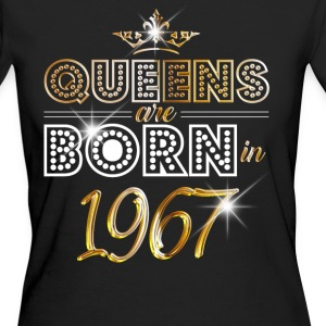 1967 - Birthday - Queen - Gold - EN T-shirts - Ekologisk T-shirt dam