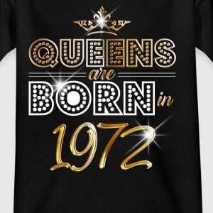 1972 - Birthday - Queen - Gold - EN Tee shirts - T-shirt Ado