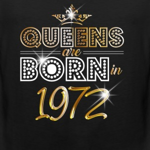 1972 - Birthday - Queen - Gold - EN Sports wear - Men's Premium Tank Top