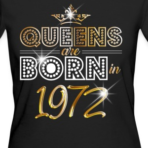 1972 - Birthday - Queen - Gold - EN Tee shirts - T-shirt Bio Femme