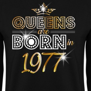 1977 - Birthday - Queen - Gold - EN Bluzy - Bluza męska