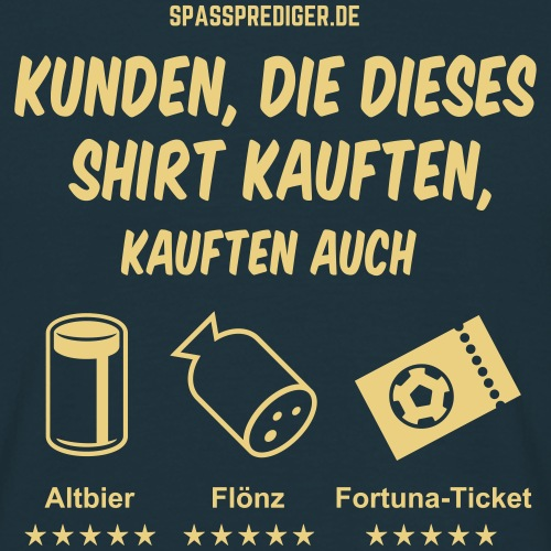 """lustiges Düsseldorf-Shirt """"Empfehlung"""""""