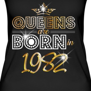 1982 - Birthday - Queen - Gold - EN Tops - Women's Organic Tank Top