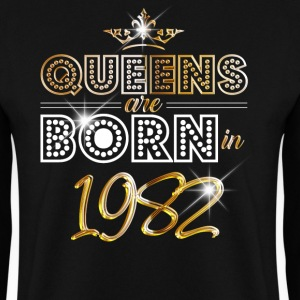 1982 - Birthday - Queen - Gold - EN Sweat-shirts - Sweat-shirt Homme